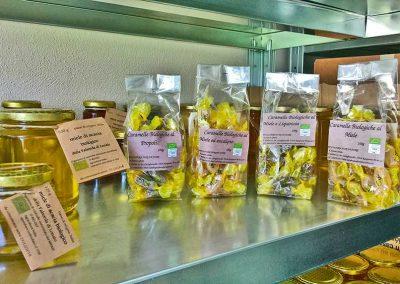 Caramelle al miele biologico, propoli, liquirizia ed eucalipto