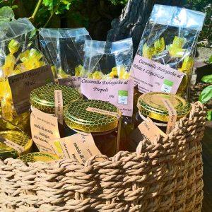 Prodotti naturali al miele biologico italiana