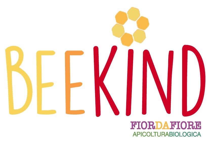 Logo BeeKind gentile con le api